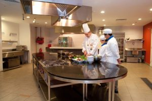 Outstanding kitchen facilities at Berjaya University College for their culinary arts students